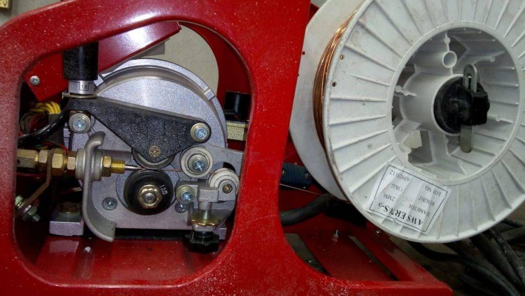 máquina de soldar microalambre